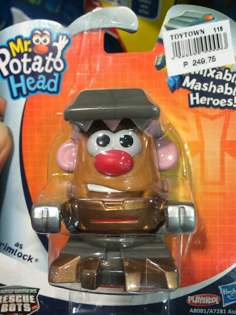 Day In Zoider' World Spotted . Potato Head