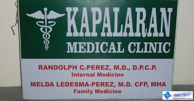 Panaflex Sign for Kapalaran Medical Clinic
