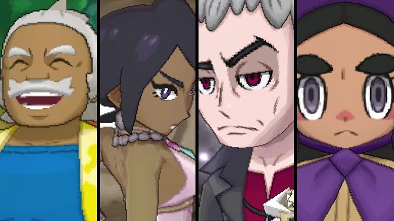 Pokémon Sun e Moon Kahunas