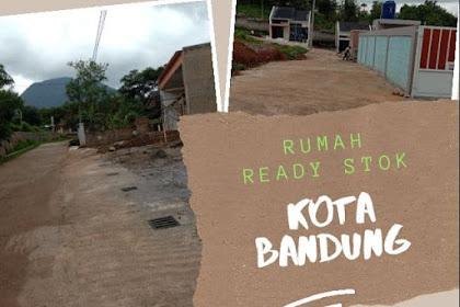 Tanah padat pinggir jalan di perbatasan kota bandung