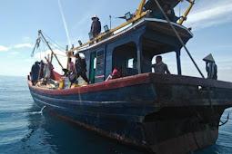 Tim Gabungan Dinas Kelautan, Polisi dan TNI-AL Patroli Illegal Fishing di Perairan Aceh Utara