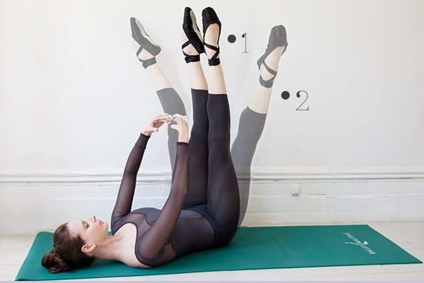5 Động tác ballet đơn giản giúp giảm mỡ đùi hiệu quả