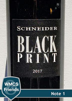 Markus Schneider Black Print trocken Pfalz 2017