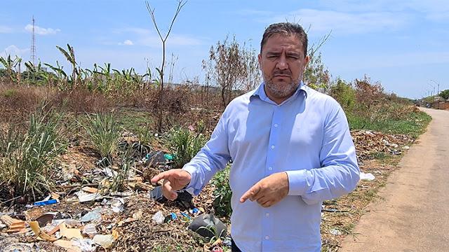 Vereador Everaldo Fogaça apela à população para que não jogue lixo na rua; Confira vídeo