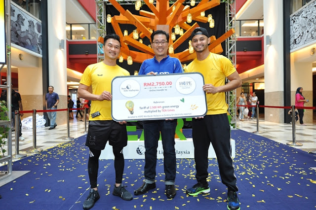 A Healthier Earth, Sun Life Malaysia, Malaysia Book of Records, Most Green Energy Generated, Sustainability Bicycle, Lifestyle, Sustainable Life