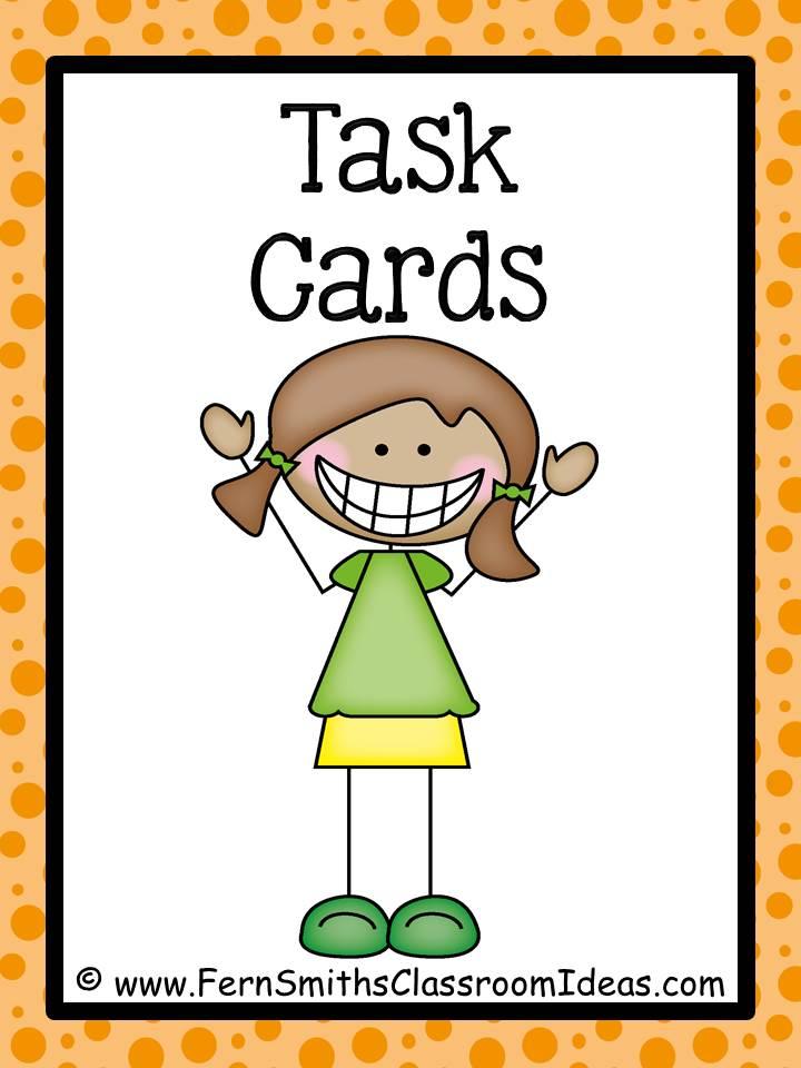 Fern Smith's Break Apart Strategy for Place Value Task Cards and Recording Sheet