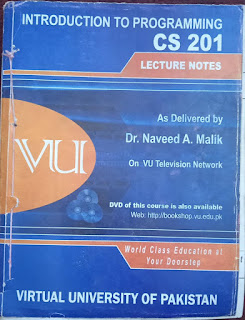 CS201 Introduction to Programming - C++ Book By Dr. Naveed Malik