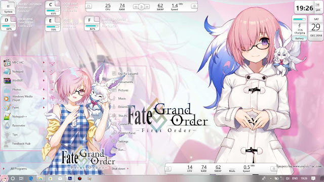 Fate/Grand Order: First Order Theme Win 10 Ver. 1803 by Enji Riz Lazuardi