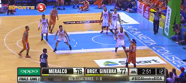 Ginebra def. Meralco, 82-79 (REPLAY VIDEO) October 9 - FINALS Game 2