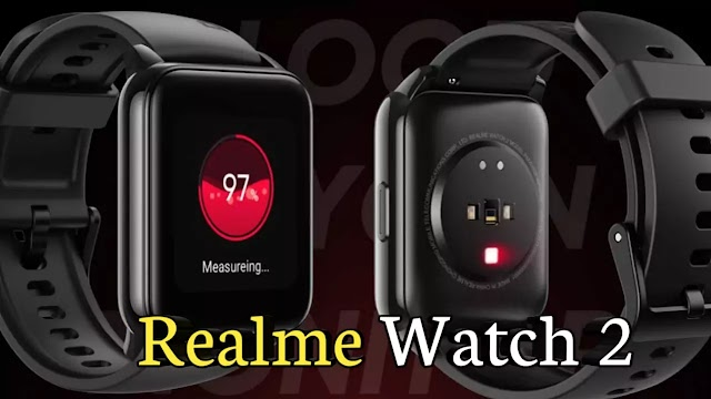 Realme Watch 2 launched in Malaysia with heart rate monitor and 12-day battery life.
