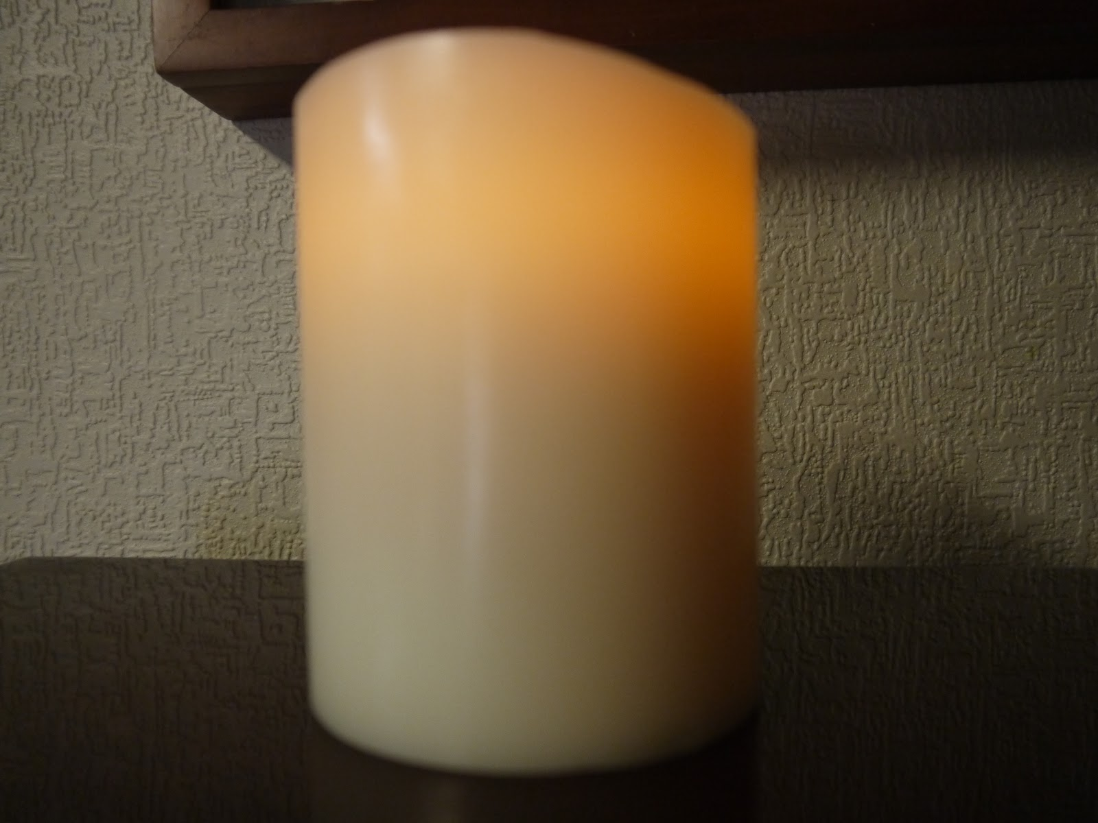 At The Fence Flameless Wax Candle From Energizer