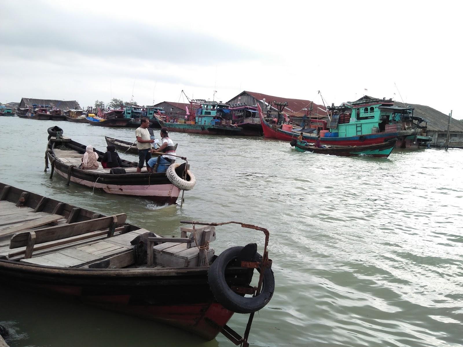 Nelayan di Tanjung Tiram