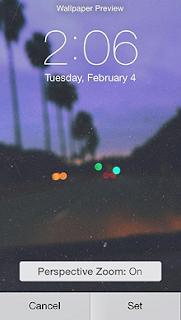 Bagaimana Perbaiki Masalah Wallpaper Membesar Di iOS 7