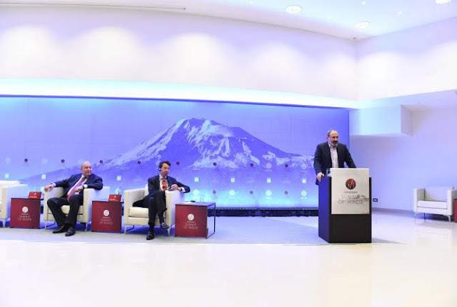 Pashinyan: Hacer de Armenia un paraíso para personas con talento