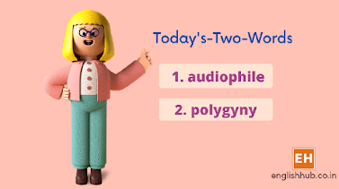 Today's-Two-Words: 'audiophile', 'polygyny'