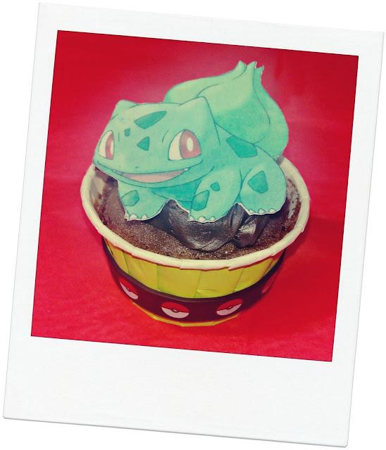 Bulbasaur Cupcake