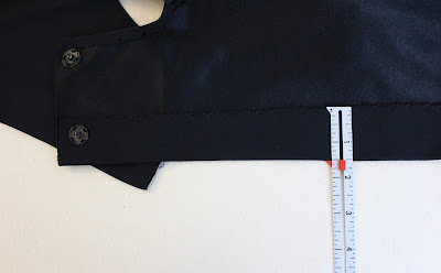 TNG skant - side hem allowance