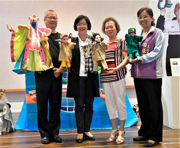 茆明福明世界特展 布袋戲技藝文物在彰化藝術館