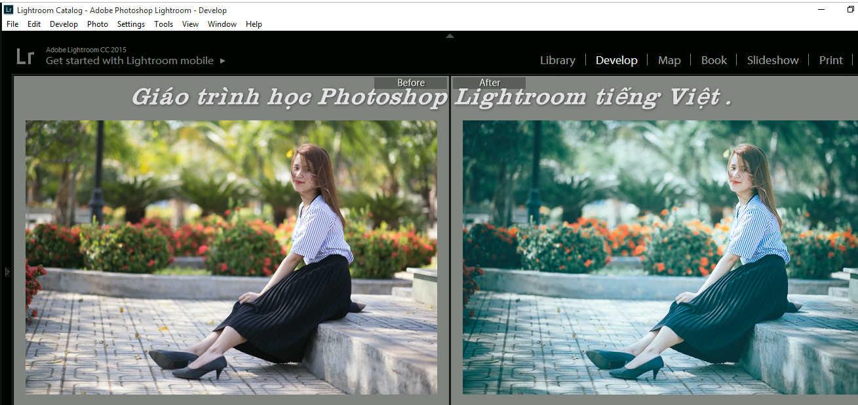 Tài liệu Video học Photoshop Lightroom tiếng Việt .