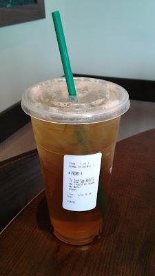 2nd Trenta Iced Green Tea Refill