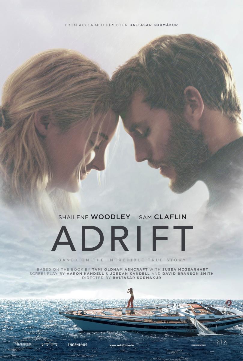 Download Adrift (2018) Full Movie in Hindi Dual Audio BluRay 720p [950MB]
