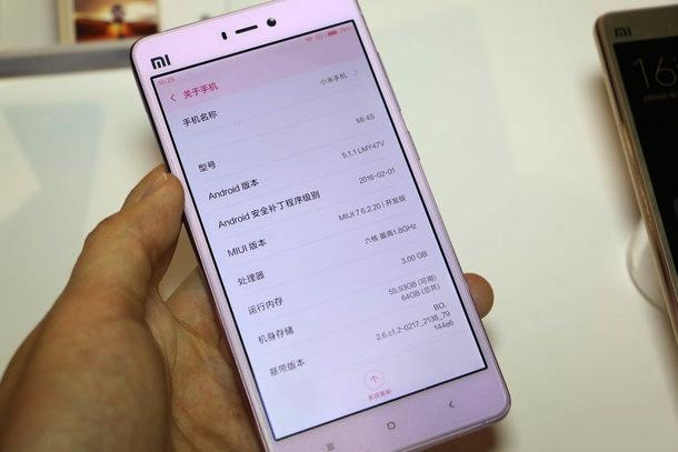 Đánh giá điện thoại Xiaomi Mi 4s (1)