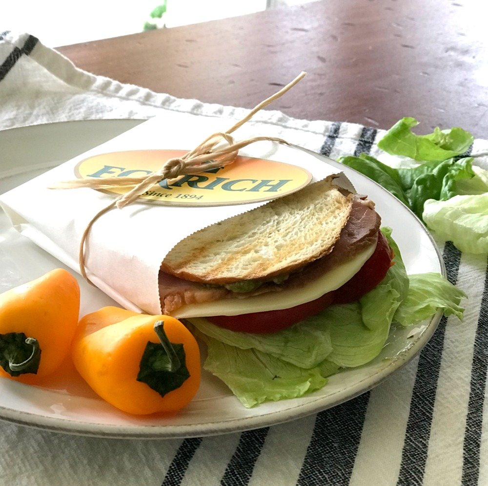 lunch sandwich made at home