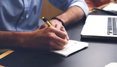 Contoh desain buku list order olshop