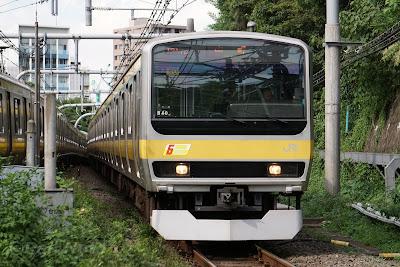 中央総武各駅停車線のE231系