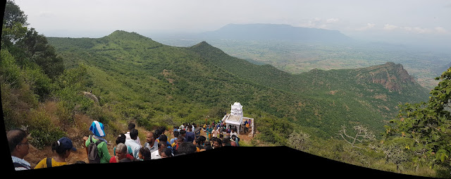 Thalamalai Sanjeevaraya Perumal Temple Panorama