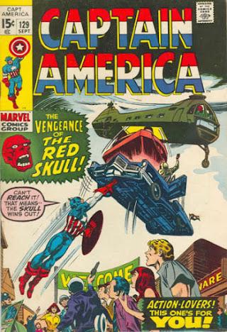 Captain America #129