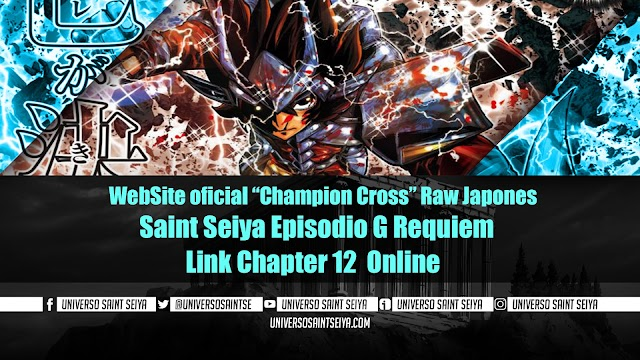 "Saint Seiya Episodio G: Requiem – Capitulo 12 – WebSite oficial ""Champion Cross"""
