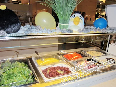 finnair angry birds buffet