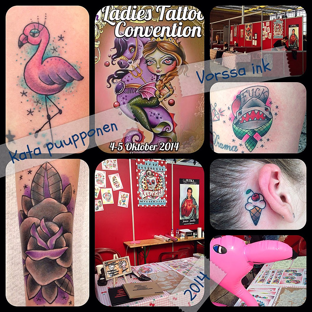 Tattoos By Kata Puupponen: Tattoos By Kata Puupponen: Lokakuuta 2014