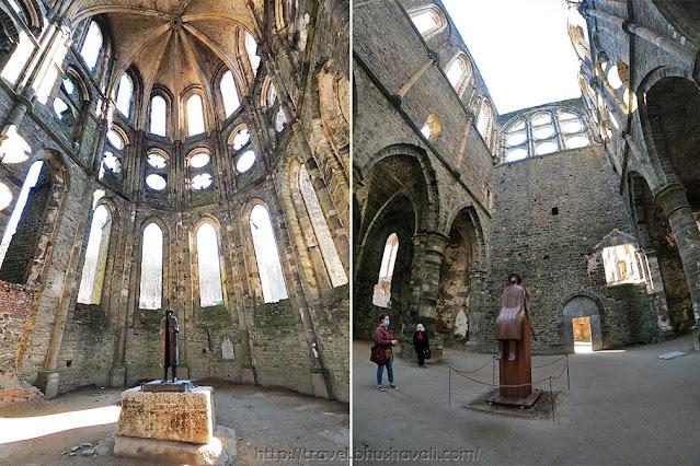 Abbaye de Villers Abbey Jean-Michel Folon Sculptures