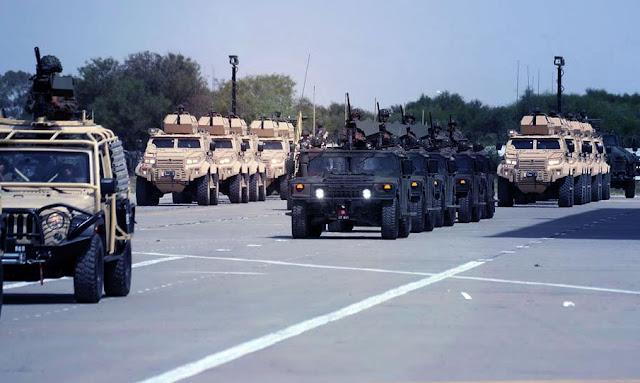 تطاوين: الجيش الوطني يشرع في تأمين المنشآت العمومية