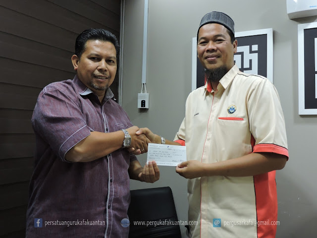 Kunjungan Hormat AJK Persatuan Guru KAFA Kuantan ke Bahagian Pendidikan JAIP