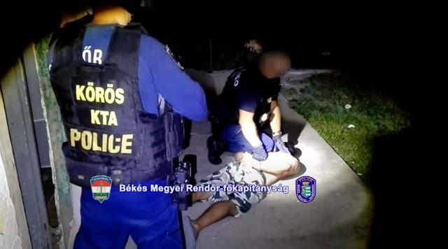 Betörőket fogtak el a rendőrök Battonyán