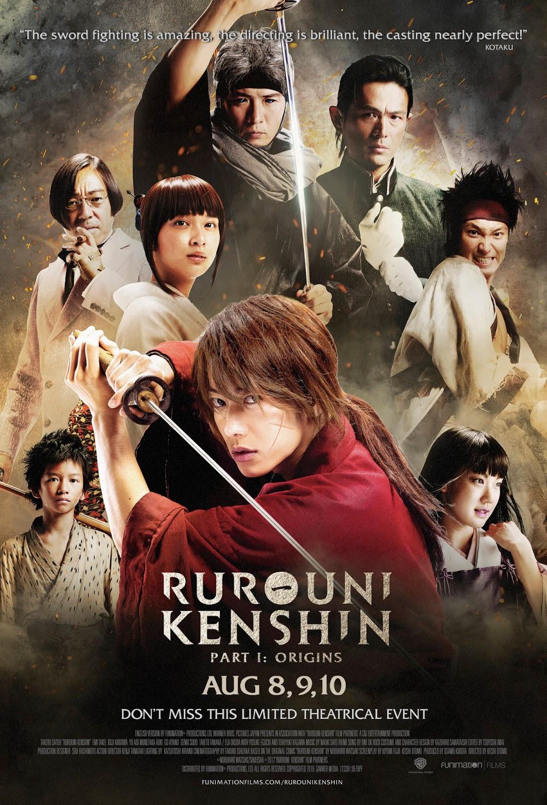 Sát Thủ Huyền Thoại -Rurouni Kenshin LIVE action