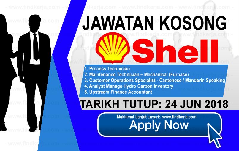 Jawatan Kerja Kosong Shell Business Operations logo www.findkerja.com www.ohjob.info jun 2018
