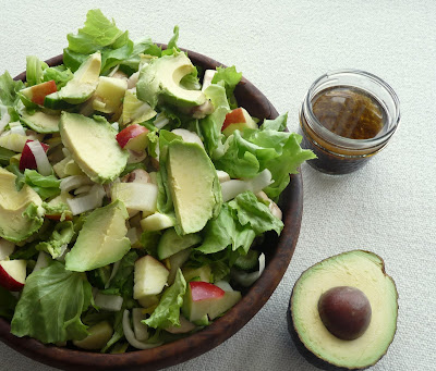A Late Winter Salad with Avocado