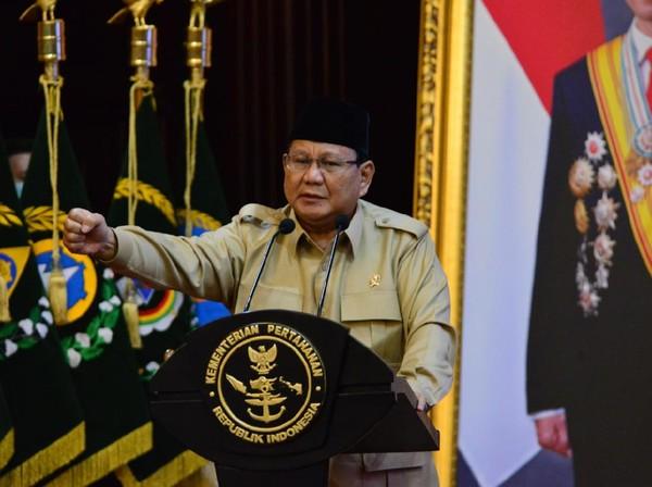 Prabowo Dipastikan Tak Absen Rapat Komisi I DPR Pagi Ini