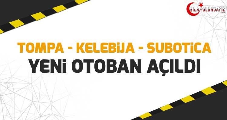 Tompa - Kelebija Sınır Kapısı ile Subotica Arasındaki Otoban Açıldı