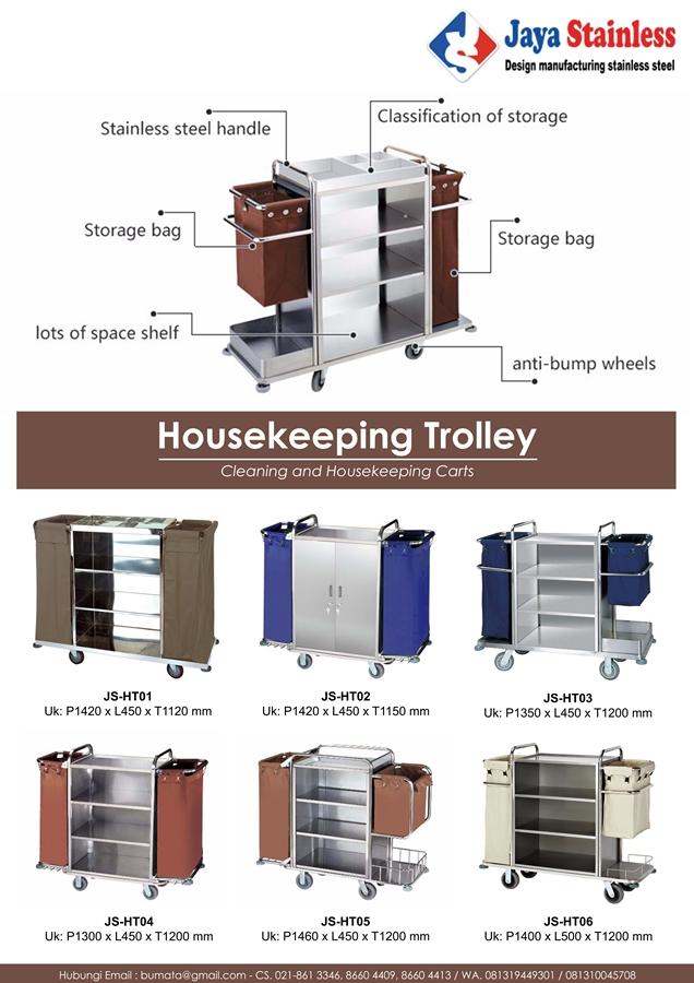 Katalog Housekeeping Trolley
