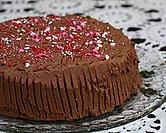 Chocolate Cinnamon Whipped Cream Cake