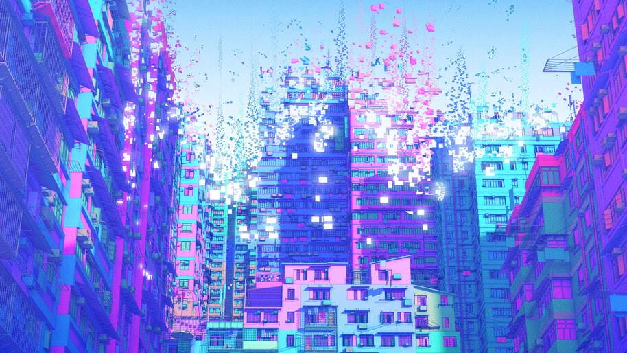 Building, Digital Art, Illustration, 4K, #4.2062