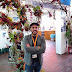 """Andrés Ayllón, florista cordobés de la localidad de Adamuz, sexto participante en el festival """"Calles en Flor"""""""