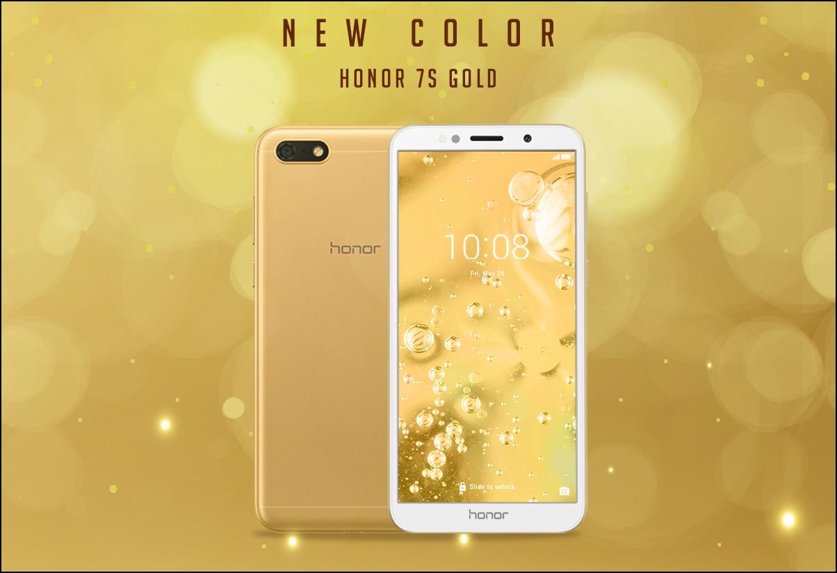 Honor 7S Hadir Dengan Varian Warna Baru di Indonesia