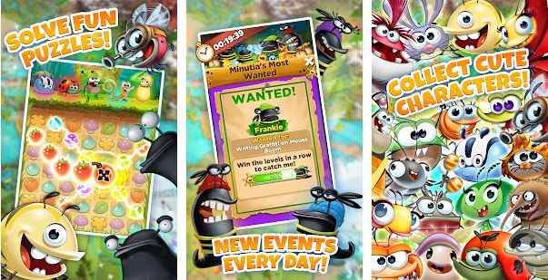 Best Android Games App | Top 8 Games App 2019, Best Fiends - Free Puzzle Game