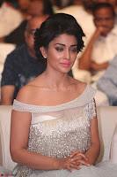 Shriya Saran in Stunning White Off Shoulder Gown at Nakshatram music launch ~  Exclusive (97).JPG
